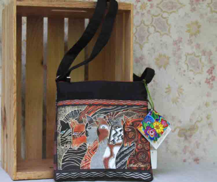 Laurel Burch bag Moroccan Mares LB2015