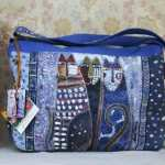 Laurel Burch design bag: Autumn Felines LB4903