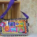 Laurel Burch bag Dog Tails Patchwork LB5213