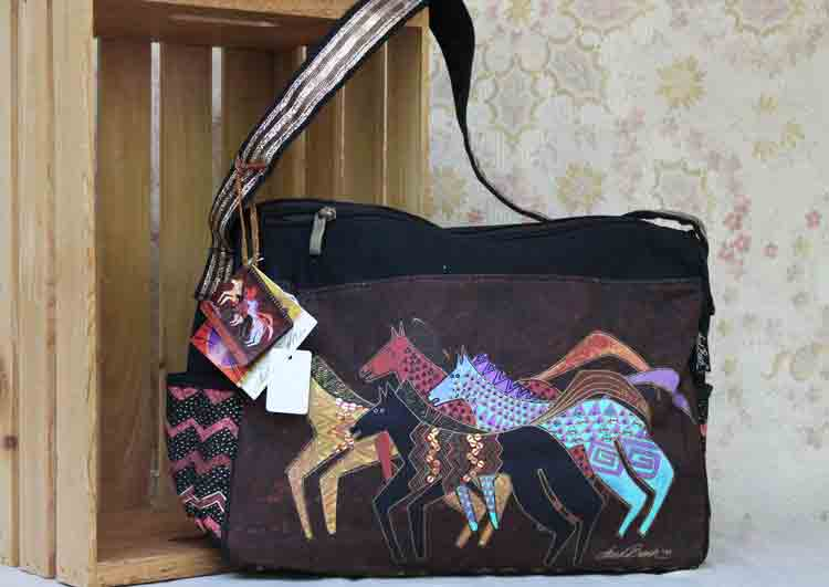 Laurel Burch bag: Native Horses LB5273