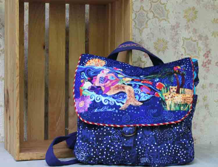 Laurel Burch backpack Ocean Song LB5401