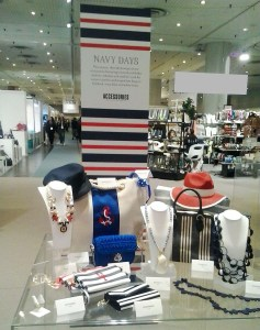 Navy Days fashion trend display.