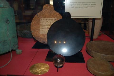 Gli strumenti di John Dee al British Museum