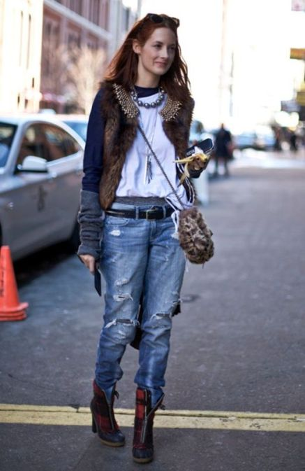 taylor tomasi hill jeans & tricou