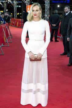 diane kruger white dress