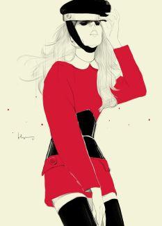 floyd grey illustration