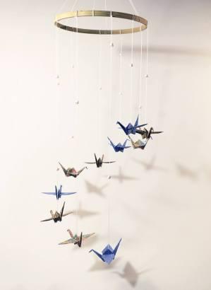 vazduh cuib cocori origami