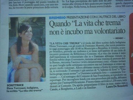 Elena torresani presentazione brembio
