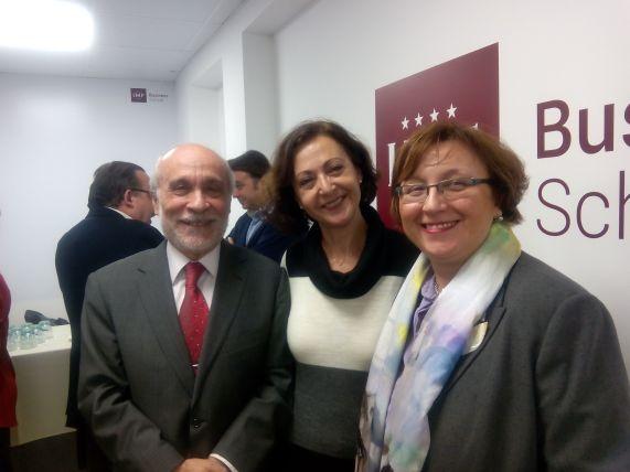 Amparo Donaire y Pedro Lalanda