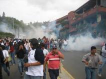 Running from the Tear Gas