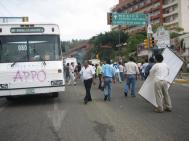 APPO Bus Barricade