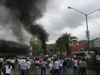 Burning Buses