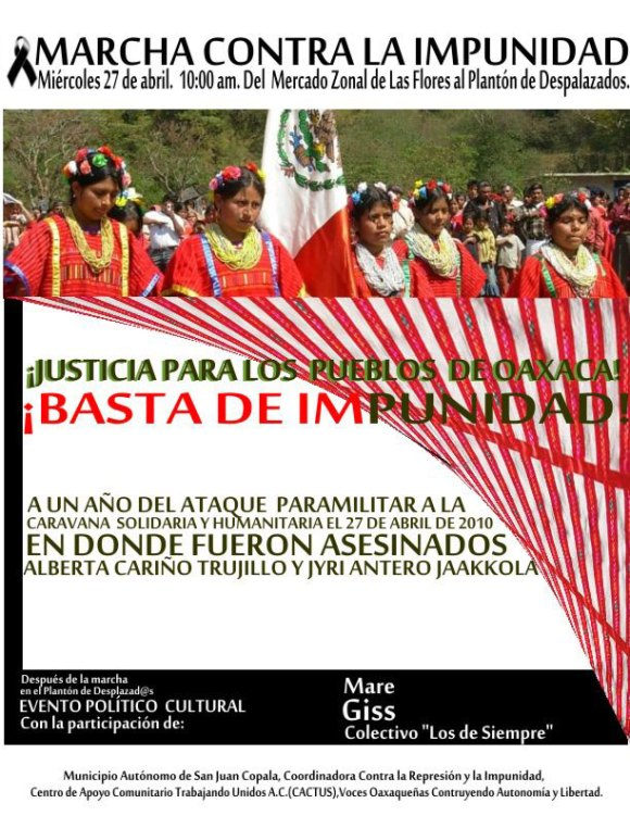 March Against the Impunity