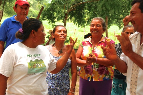 Celebrating women's role in the ongoing struggle against the dam