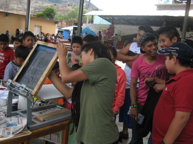 Screen Printing Workshop Atliaca