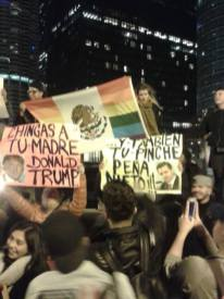 Protest in Chicago, Illinois. Photo by Andrea Ene