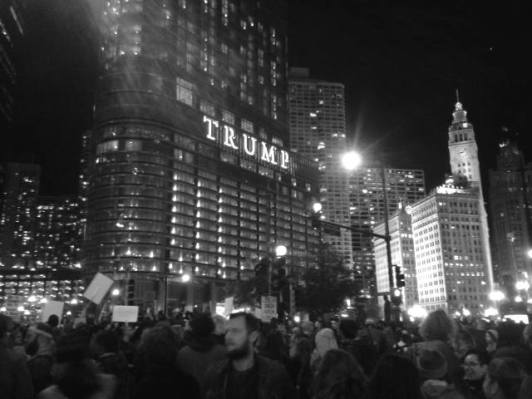 Marcha en Chicago, Illinois. Foto: Andrea Ene