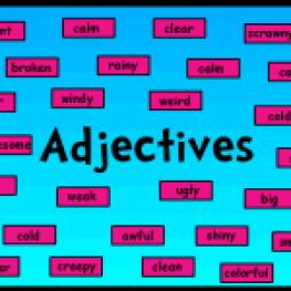 adjectives1 150x150 - Adjetivos