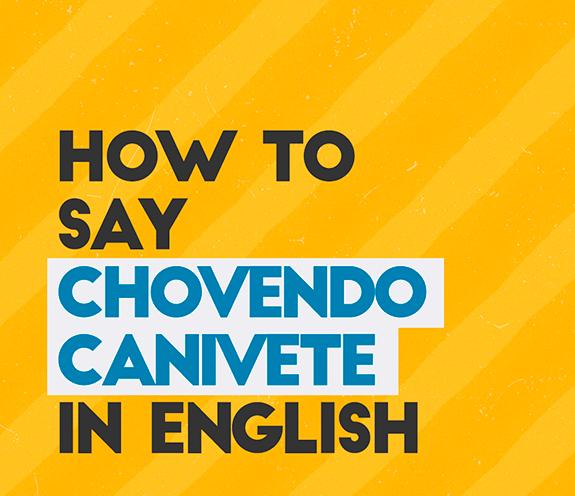 """BLOG CHOVENDO CANIVETE - Como se diz: """"chovendo canivete"""" em inglês?"""