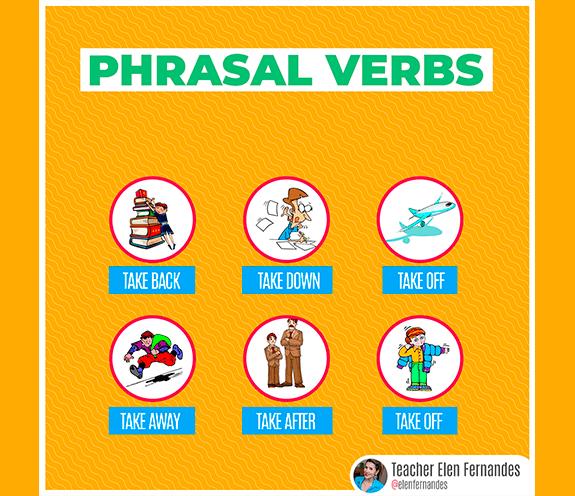 "BLOG PHRASAL VERBS - Phrasal Verbs com ""TAKE"""