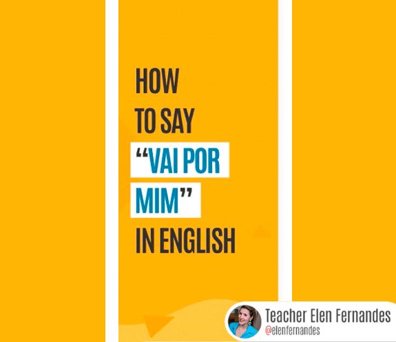 """BLOG COMO SE DIZ VAI POR MIM - Como se diz: """"vai por mim"""" em Inglês?"""