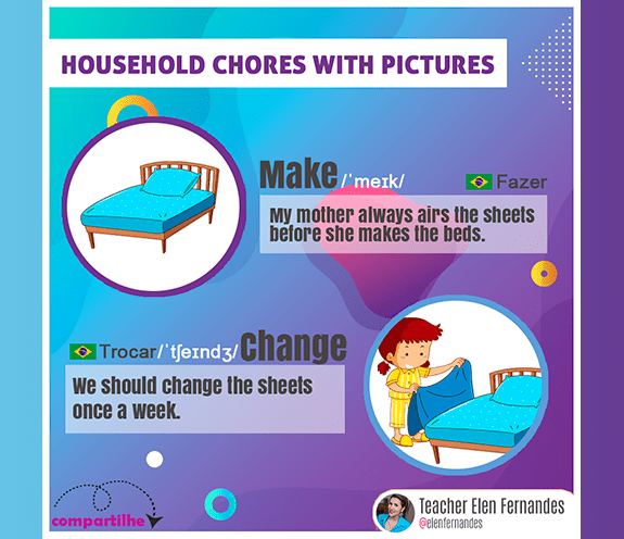 BLOG HOUSEHOLD CHORES 03 - Household chores with pictures #03