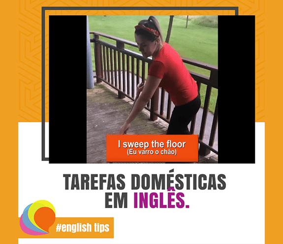 BLOG TAREFAS DOMESTICAS - Tarefas domésticas em inglês.
