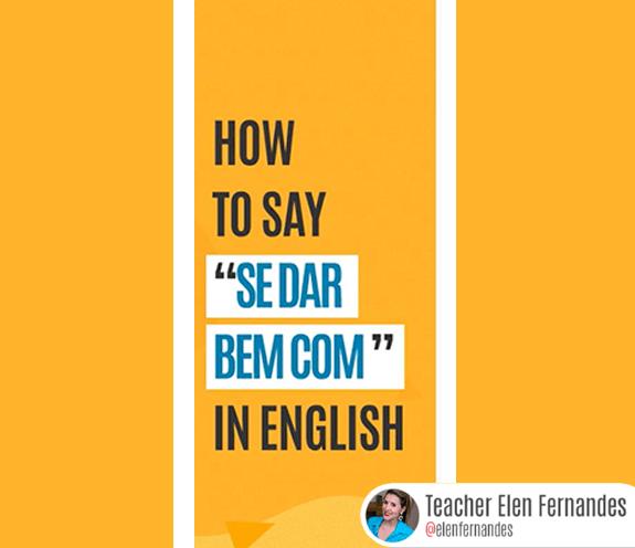 """BLOG COMO SE DIZ SE DAR BEM COM - Como se diz: """"se dar bem com"""" em inglês?"""