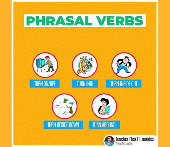 """BLOG TURN ON OFF - Phrasal verbs com """"TURN"""""""