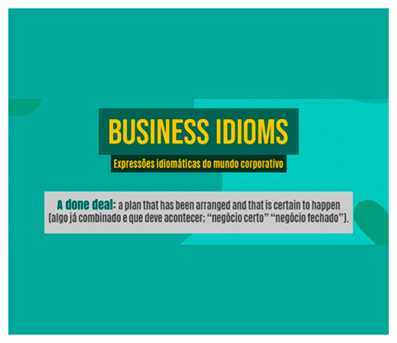 BLOG A DONE DEAL - Business Idioms: A done deal