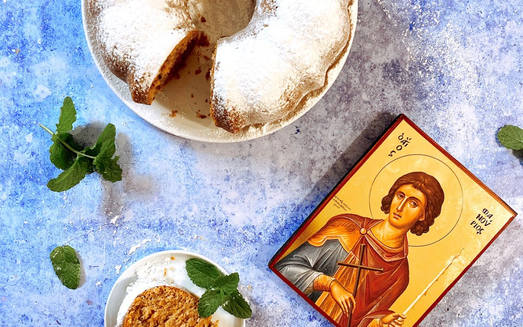 Fanouropita (St. Fanourios Cake)