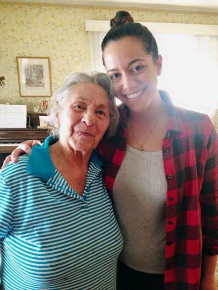 Aunt Mary's 100th birthday