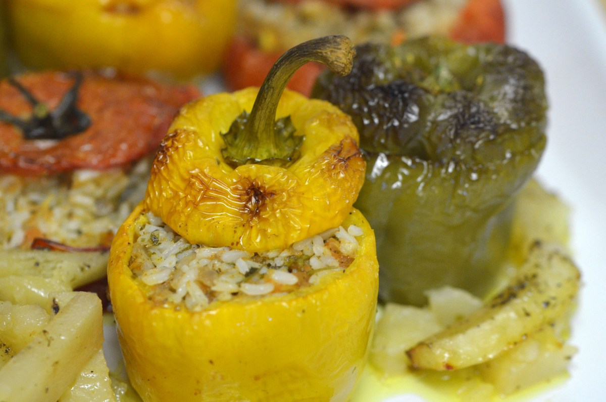 Yemista (Stuffed Vegetables)