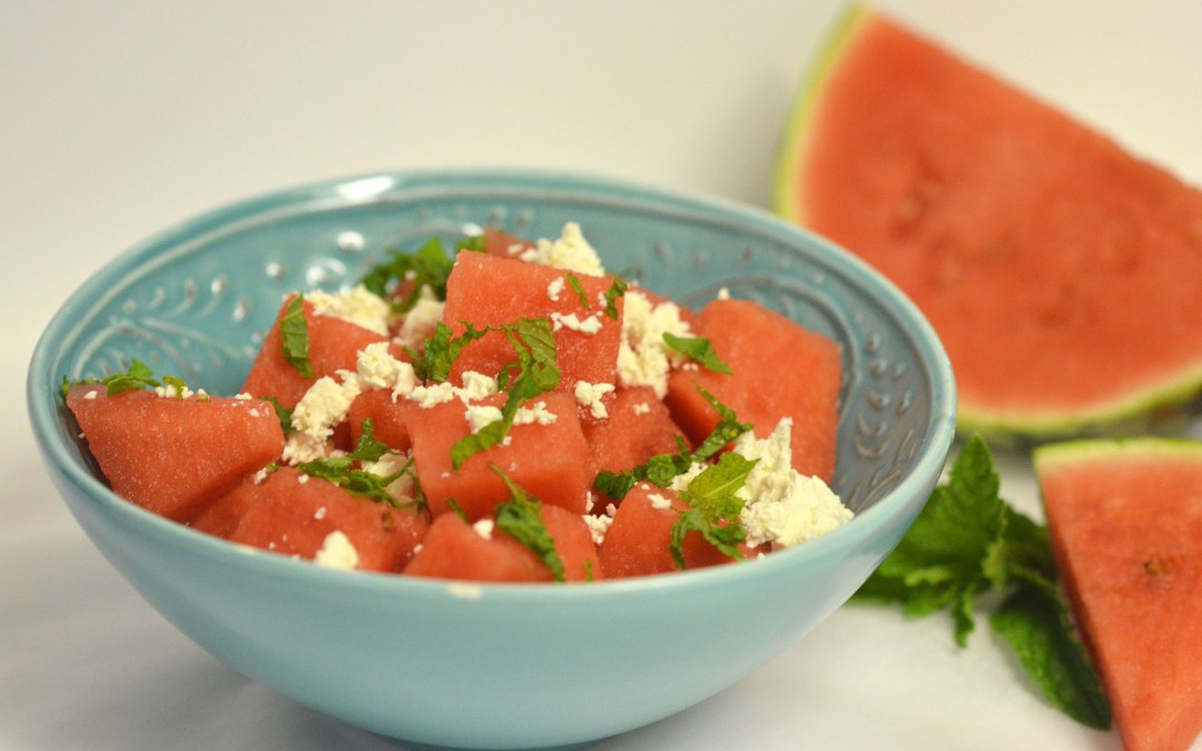 Karpouzi Salata (Watermelon Salad)