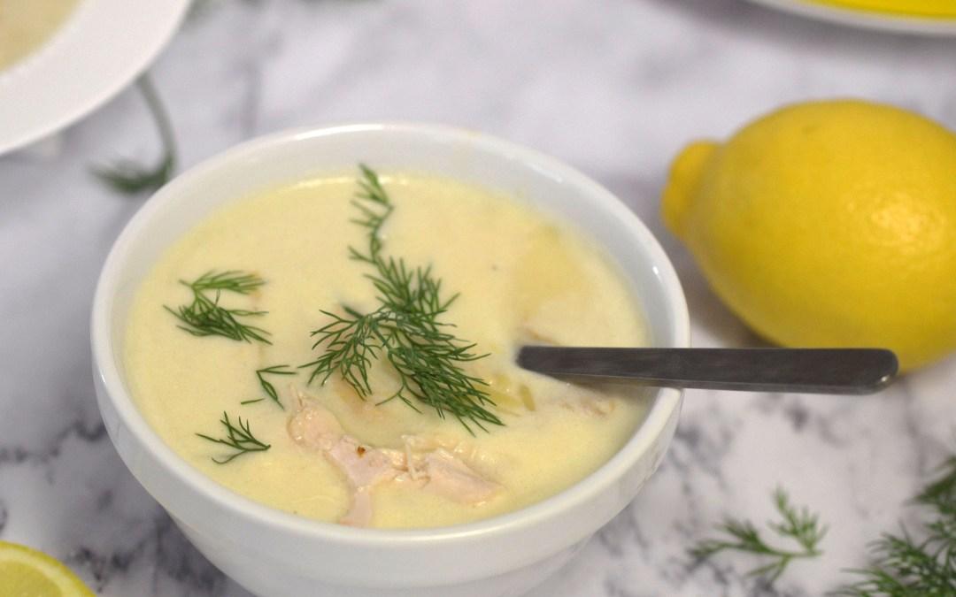 Avgolemono Soup (Egg Lemon Soup)
