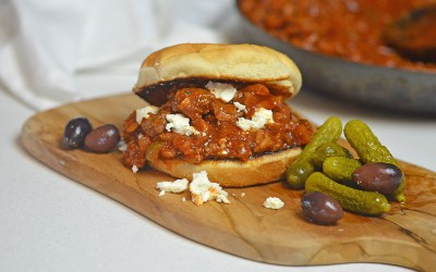 """Sloppy Tzo"" -Greek Sloppy Joe's"