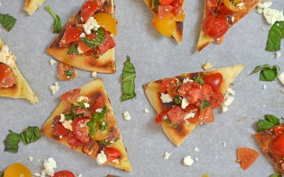 Greek Bruschetta