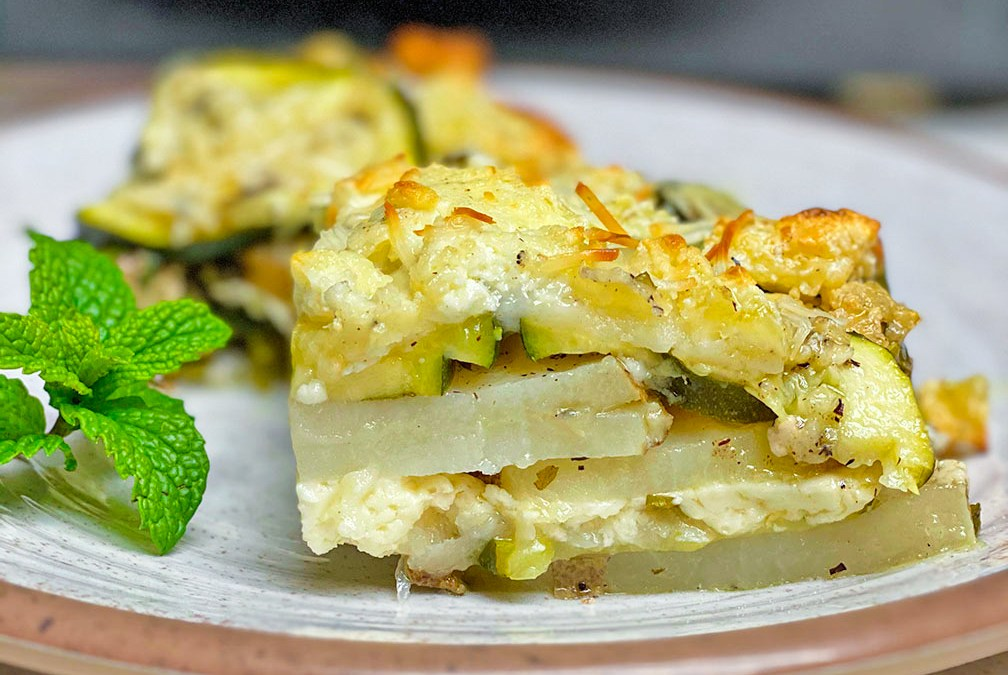 Boureki (Zucchini and Potato Pie)