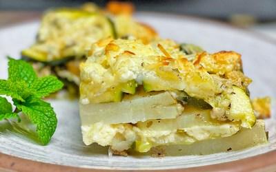 Boureki (Zucchini and Potato Pie)