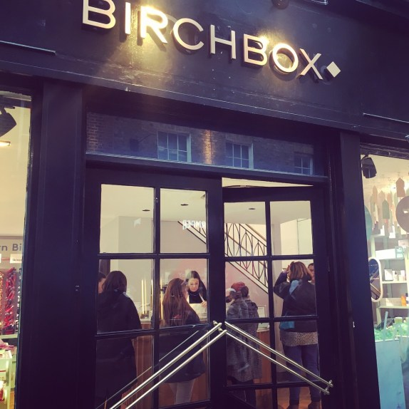 London Birchbox Pop-Up Shop