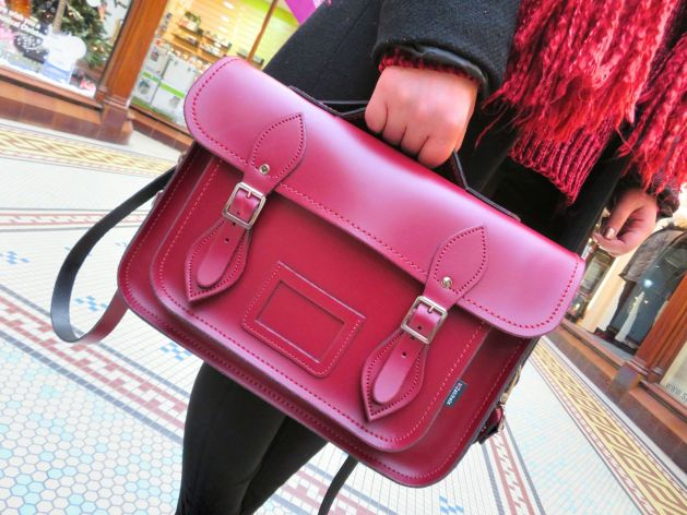 Zatchel Oxblood bag