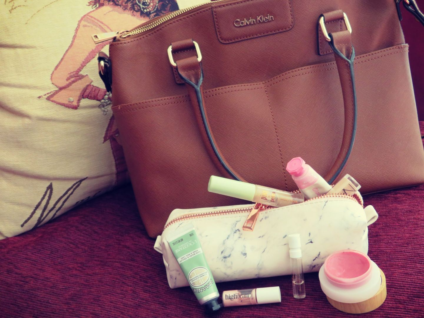 What's in my make-up bag