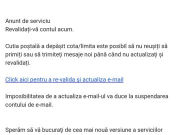 actualizati-va e-mailul