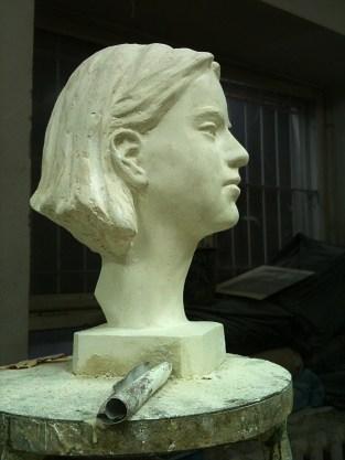 Anna 20X20X40 cm 2012 Plaster