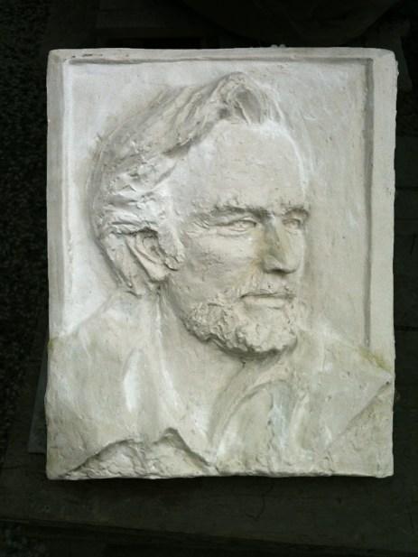 E. Kalavras 60X80X7 cm relief, plaster, 2011
