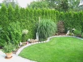 Steinmauer Garten Sichtschutz Gartendekorationen Schön ...