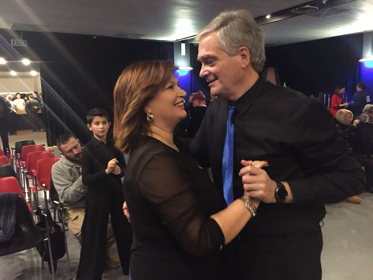Ruggero e Patrizia al Brevetto