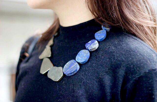 eleonora milano una collana di susan cavani collezione simply stone