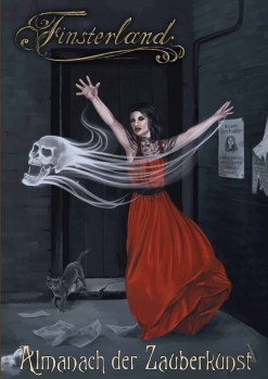 Finsterland Magiebuch Cover