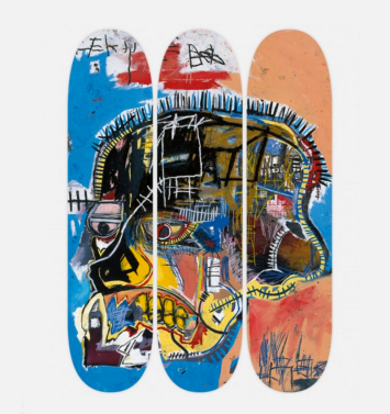Jean-Michel Basquiat Collection of Skate Decks with The Skateroom - theskateroom.com